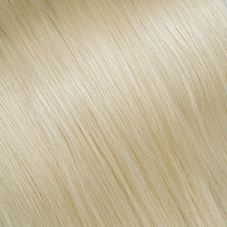Hand tied weft № 20, very light ultra blonde