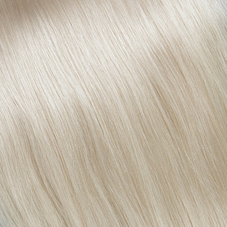 Hand tied weft № 24, very light blonde