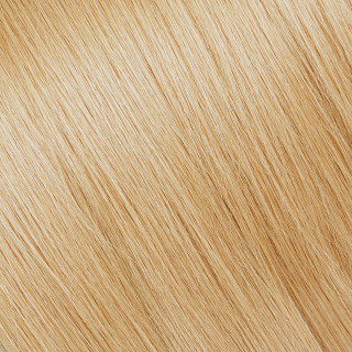 Hand tied weft № 26, golden very light blonde