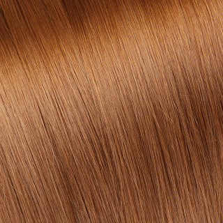 Hand tied weft № 30, light golden cooper blonde