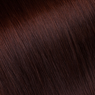 Hand tied weft № 35, deep red
