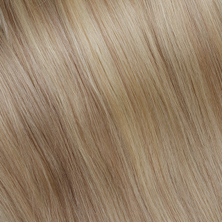 Hand tied weft № 140, golden ultra blonde