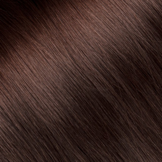 Clip in Hair extension № 6, light chestnut