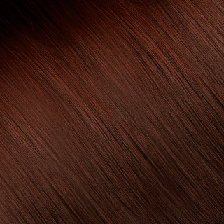 Clip in Hair extension № 33, light mahogany chestnut