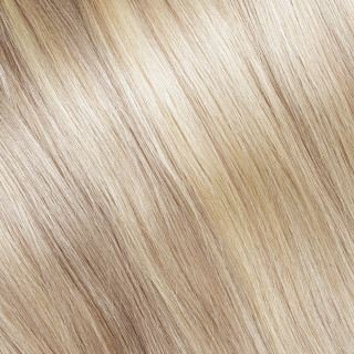 Clip in Hair extension № 140, golden ultra blonde