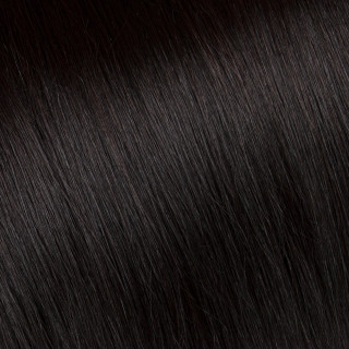 Flat tip Hair Extension № 2, dark chestnut