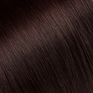 Flat tip Hair Extension № 4, chestnut