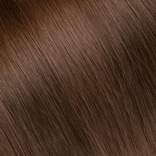 Flat tip Hair Extension № 8, dark blonde