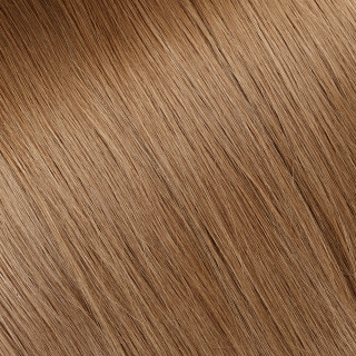 Flat tip Hair Extension № 14, light blonde