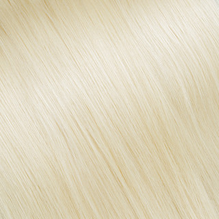 Flat tip Hair Extension № 20, very light ultra blonde