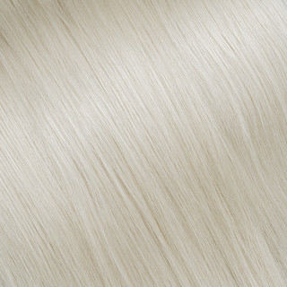 Flat tip Hair Extension № 24, very light blonde
