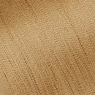 Flat tip Hair Extension № 27, golden blonde