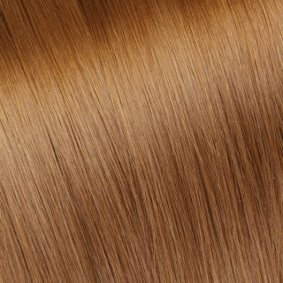 Flat tip Hair Extension № 30, light golden cooper blonde