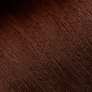 Flat tip Hair Extension № 33, light mahogany chestnut