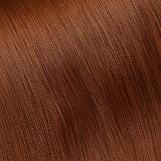 Flat tip Hair Extension № 130, light golden cooper blonde