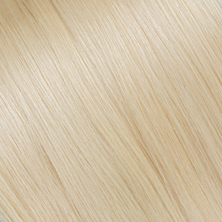 Flat tip Hair Extension № DB2, golden light blonde