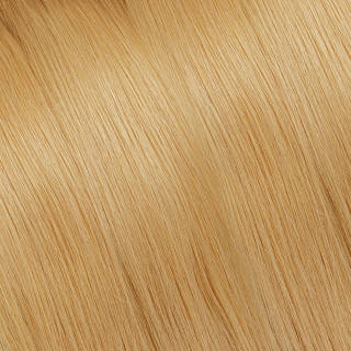 Flat tip Hair Extension № DB3, golden blonde